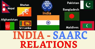 India-SAARC Relations - IAS4Sure