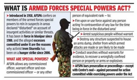 ias4sure.com - AFSPA Impact of SC Ruling